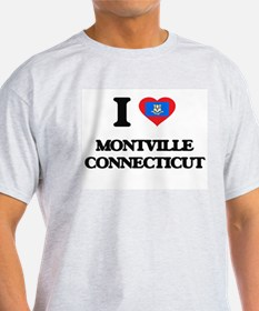 I love Montville Connecticut T-Shirt