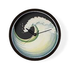 Earth Wave Wall Clock