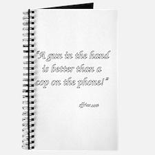 A Gun In The Hand Journal