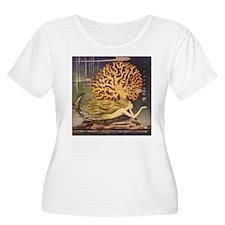 Vintage Mermaid Plus Size T-Shirt