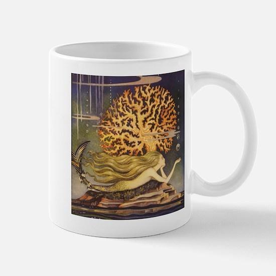 Vintage Mermaid Mugs
