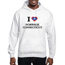 I love Norwalk Connecticut Hoodie