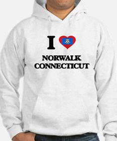 I love Norwalk Connecticut Hoodie
