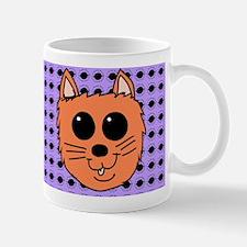 Orange Kitty illustration Mugs