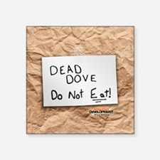 "Arrested Development Dead D Square Sticker 3"" x 3"""