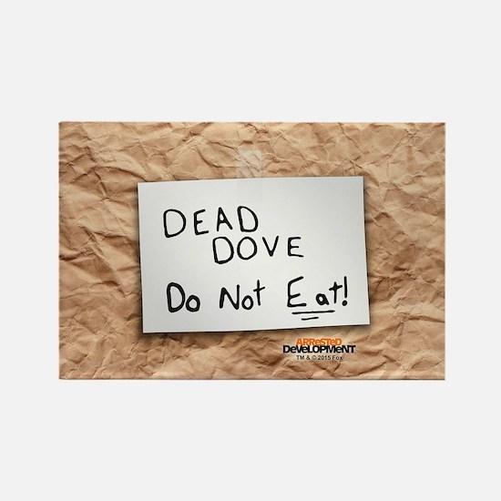 Arrested Development Dead Dove Rectangle Magnet