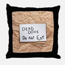 Arrested Development Dead Dove Throw Pillow