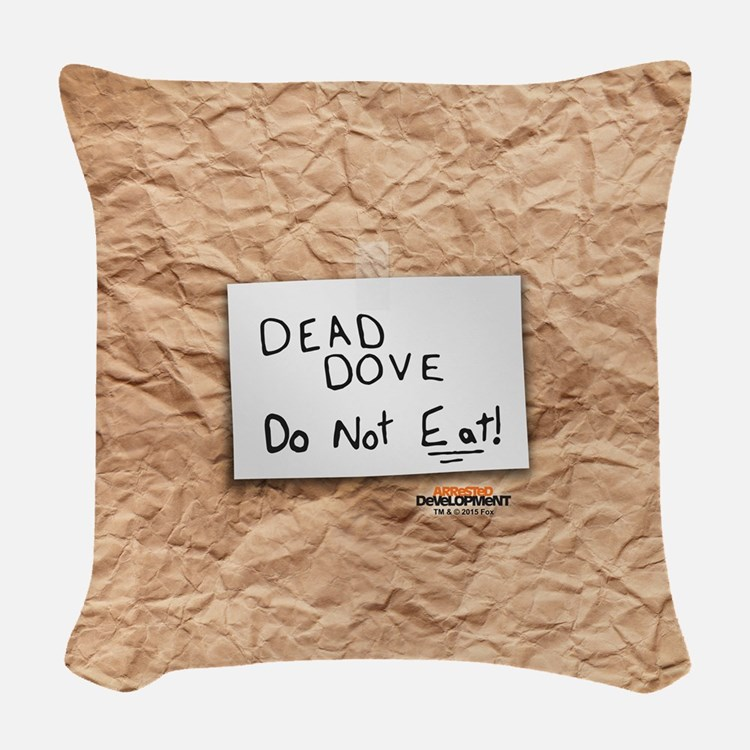 Arrested Development Dead Dove Woven Throw Pillow