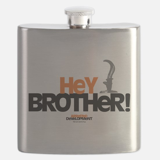 Arrested Development Hey Brother Flask