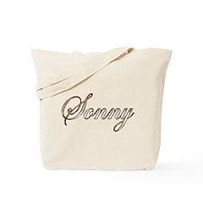 Gold Sonny Tote Bag