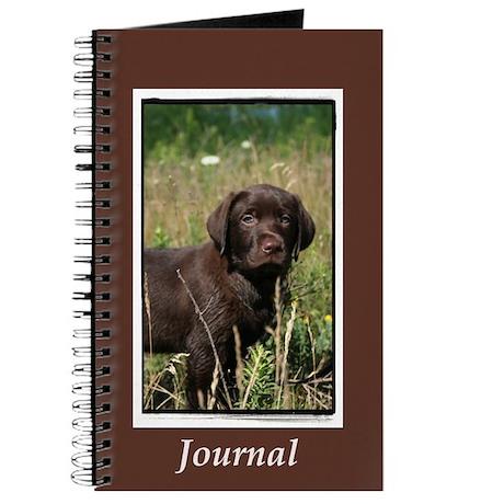 Chocolate Lab Puppy Journal