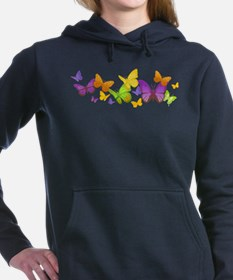 Cute Butterflies Women's Hooded Sweatshirt