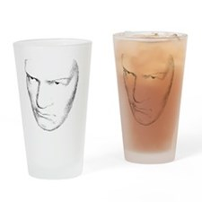 Beethoven Head Drinking Glass
