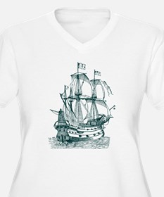Galleon Plus Size T-Shirt