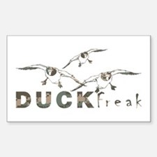 DUCK FREAK Decal