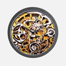 Steampunk Gears Wall Clock