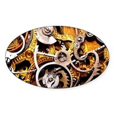 Steampunk Gear Decal