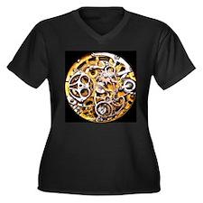 Steampunk Gears Plus Size T-Shirt