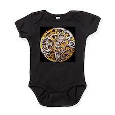 Steampunk Gears Baby Bodysuit