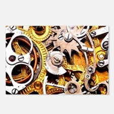 Steampunk Gears Postcards (Package of 8)
