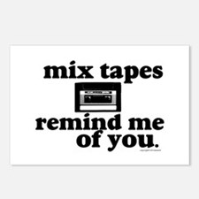 Mix Tapes Postcards (Package of 8)