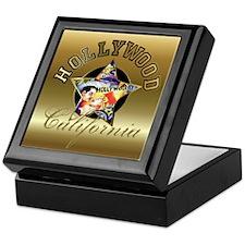 Hollywood CA Walk Of Fame Keepsake Box