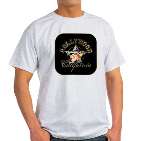 Hollywood CA Walk Of Fame Light T-Shirt