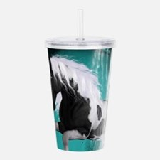 Awesome horse Acrylic Double-wall Tumbler