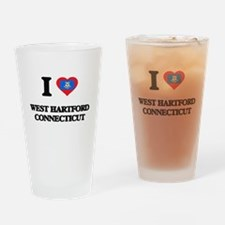 I love West Hartford Connecticut Drinking Glass