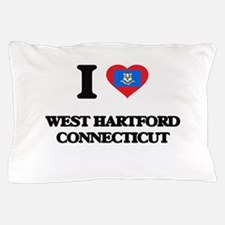 I love West Hartford Connecticut Pillow Case