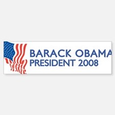 BARACK OBAMA for President Bumper Bumper Bumper Sticker
