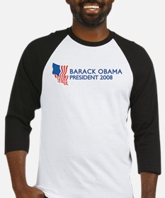 BARACK OBAMA for President Baseball Jersey
