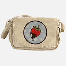 Chocolate Strawberry Messenger Bag