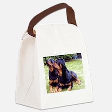 Rottweiler Canvas Lunch Bag
