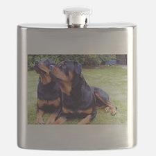 Rottweiler Flask