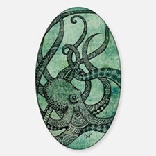 octopus Sticker (Oval)