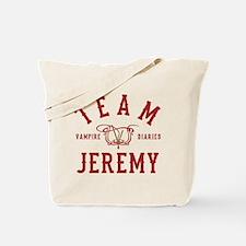 Team Jeremy Vampire Diaries Tote Bag