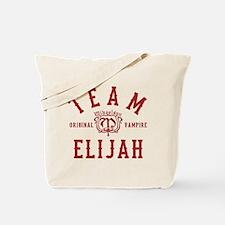 Team Elijah Vampire Diaries Originals Tote Bag