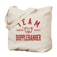Team Doppleganger Vampire Diaries Tote Bag