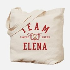 Team Elena Vampire Diaries Tote Bag