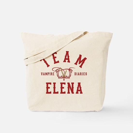 Team Elena Vampire Diaries Tote Bag