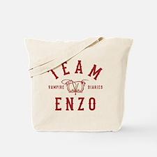 Team Enzo Vampire Diaries Tote Bag