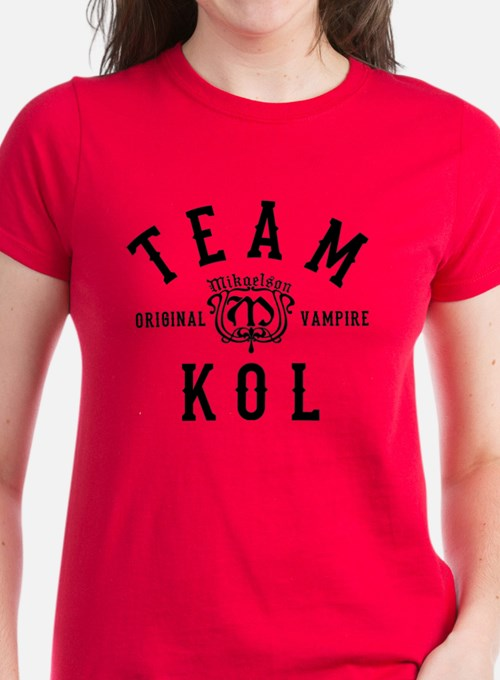 Team Kol Vampire Diaries Originals T-Shirt