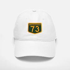 Amateur Radio 73 Baseball Baseball Cap