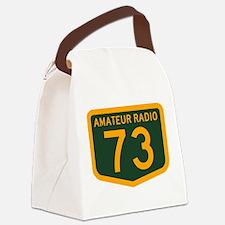 Amateur Radio 73 Canvas Lunch Bag