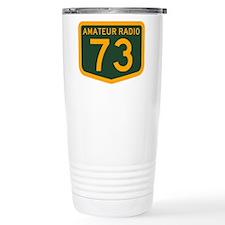Amateur Radio 73 Travel Mug
