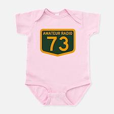 Amateur Radio 73 Infant Bodysuit