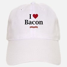 I Love Bacon! Baseball Baseball Cap