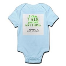 Cute Speech language pathologist Infant Bodysuit