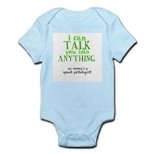 Funny Speech language pathologist Infant Bodysuit
